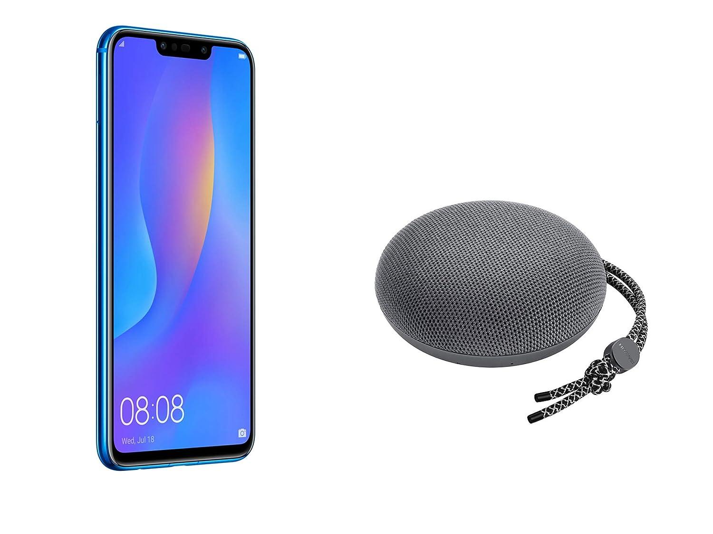"""Huawei PSmart+ (Iris Purple) più esclusivo speaker Bluetooth, Telefono con 64 GB, Display 6.3"""" Full HD, Processore Octa Core dinamico con Intelligenza Artificiale [Versione Italiana]"""