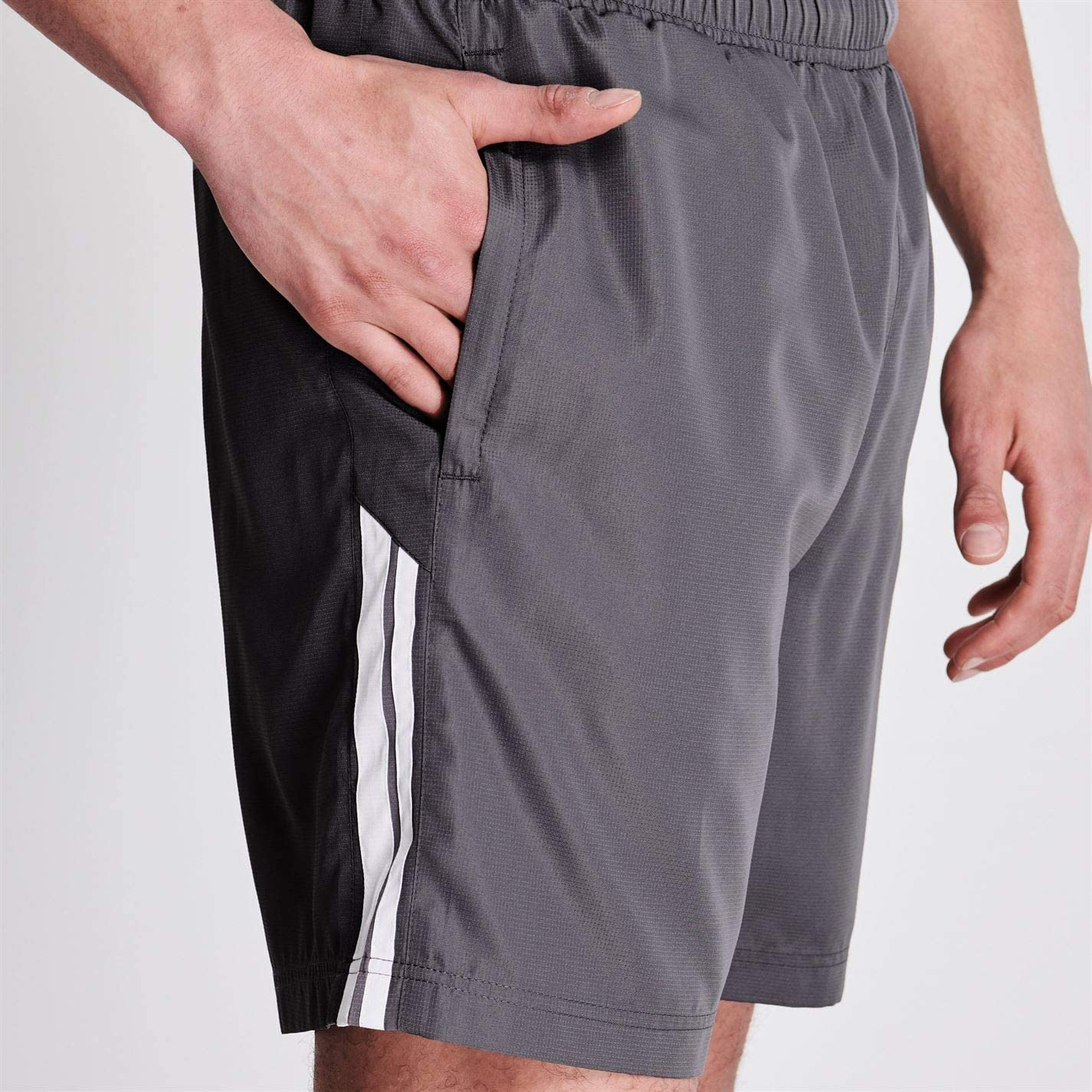 Lonsdale Herren 2 Streifen Gewebte Shorts