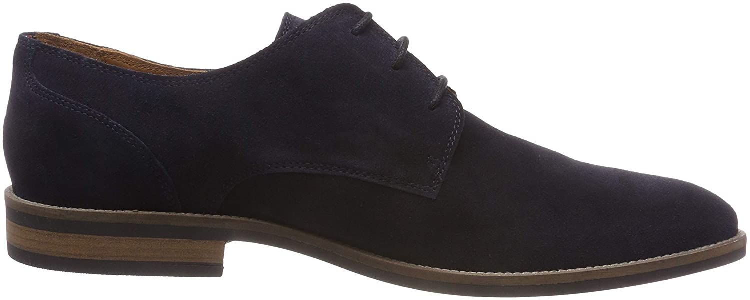 Tommy Hilfiger Herren Essential Suede Lace up 403) Derby Derbys Blau (Midnight 403) up 8e24d0