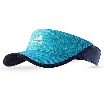 TRIWONDER Visera Ajustable Protección UV Gorro de Deporte Unisex para Tenis Golf Béisbol Pádel Correr al Aire Libre