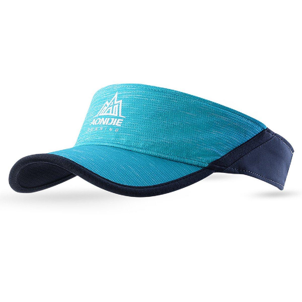 TRIWONDER Visor Cap Summer Sun Hat Men Women Outdoor Activities & Sports (Blue)