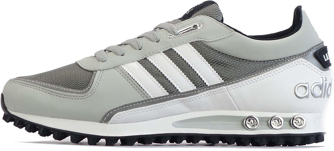 Shoe, Sneaker, Adidas, Männer LA Trainer, Black Light