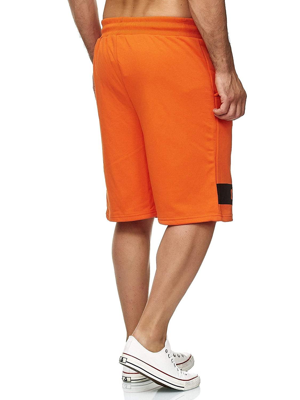 Pantaloni Corti da Uomo NASA Red Bridge Bermuda Corti con Logo U.S Flag Logo