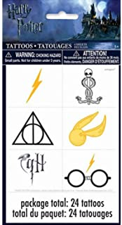 78af6a1be Amazon.com: Lightning Bolt Tattoos (72 Pack) Easy to Apply and ...
