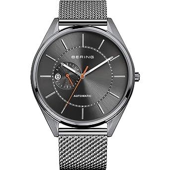 BERING Reloj Analógico para Hombre de Automático con Correa en Acero Inoxidable 16243-377: Amazon.es: Relojes