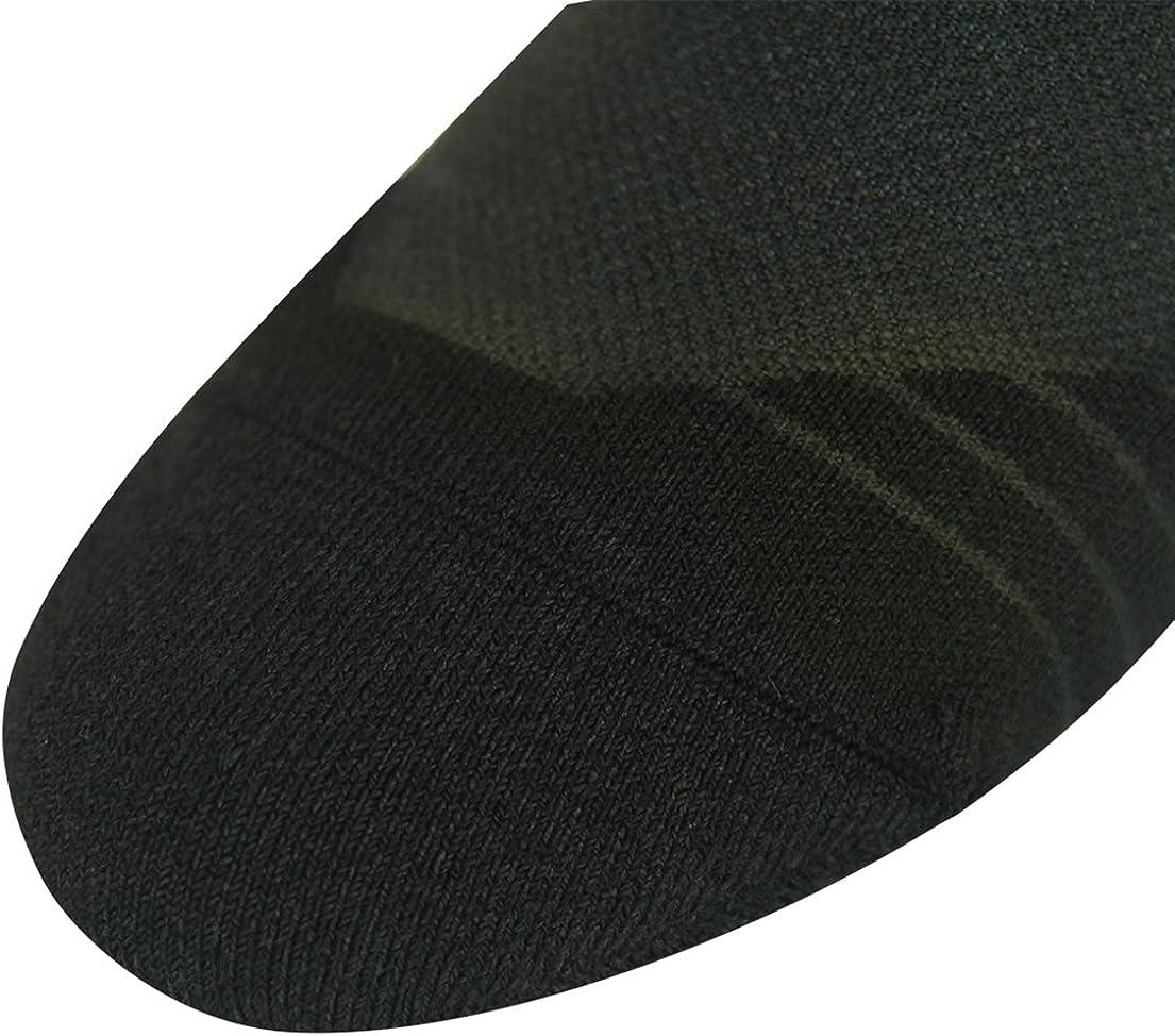 HUSO Mens Womens Cushion Mid Calf Novelty Athletic Cycling Dress Crew Socks 1,3,4,7 Pack