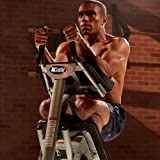 Tristar Products Inc. AbCoaster MAX Ab Machine Exercise Equipment for Home Gym, Less Stress on Neck & Back, Abdominal…