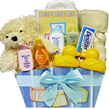Amazon art of appreciation gift baskets its a boy new baby art of appreciation gift baskets its a boy new baby gift basket with teddy bear negle