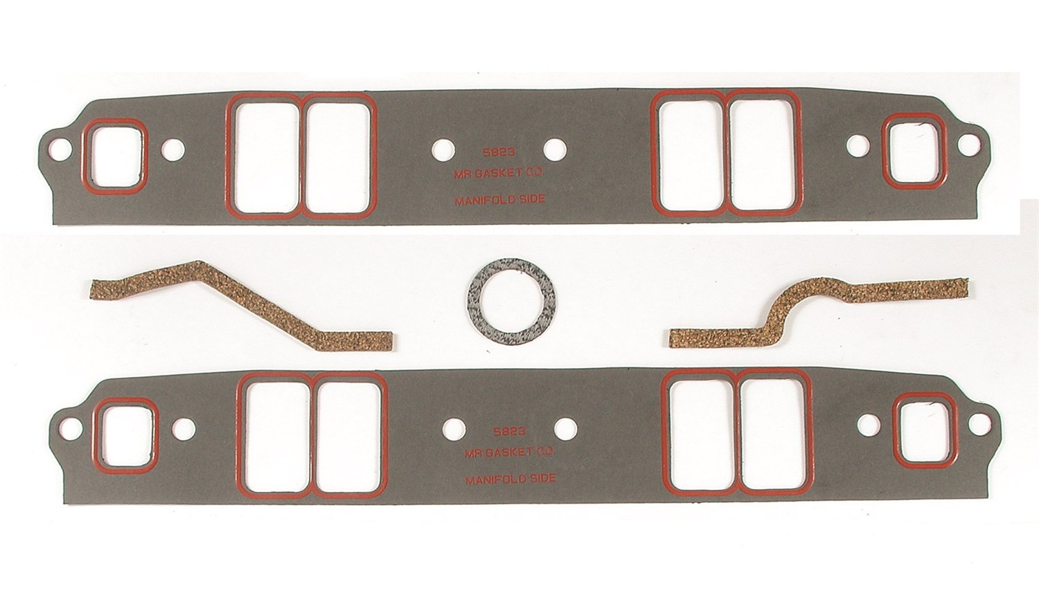 Gasket 5823 Small Block Ultra-Seal Intake Gasket Mr