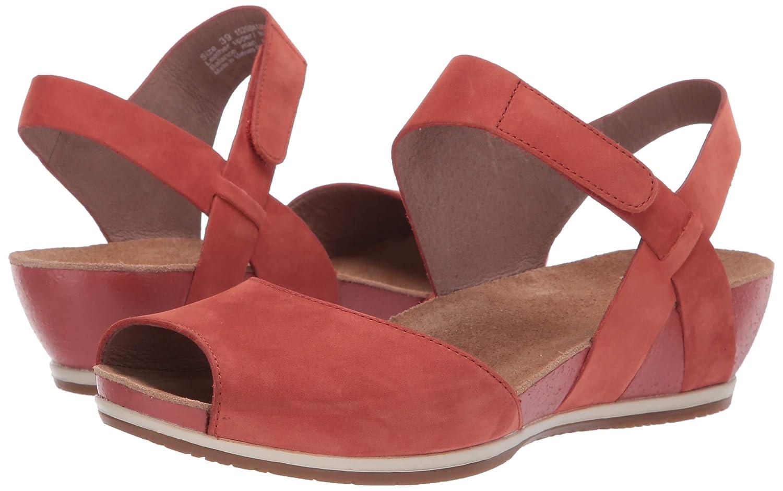 dansko Womens Vera Flat Sandal