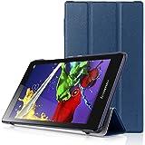 Lenovo Tab 2 A8 & Lenovo Tab 3 8 Case - HOTCOOL Ultra Slim Lightweight Stand Cover Case For Lenovo Tab 2 A8-50 & Lenovo Tab 3 8 Tablet, Navy Blue