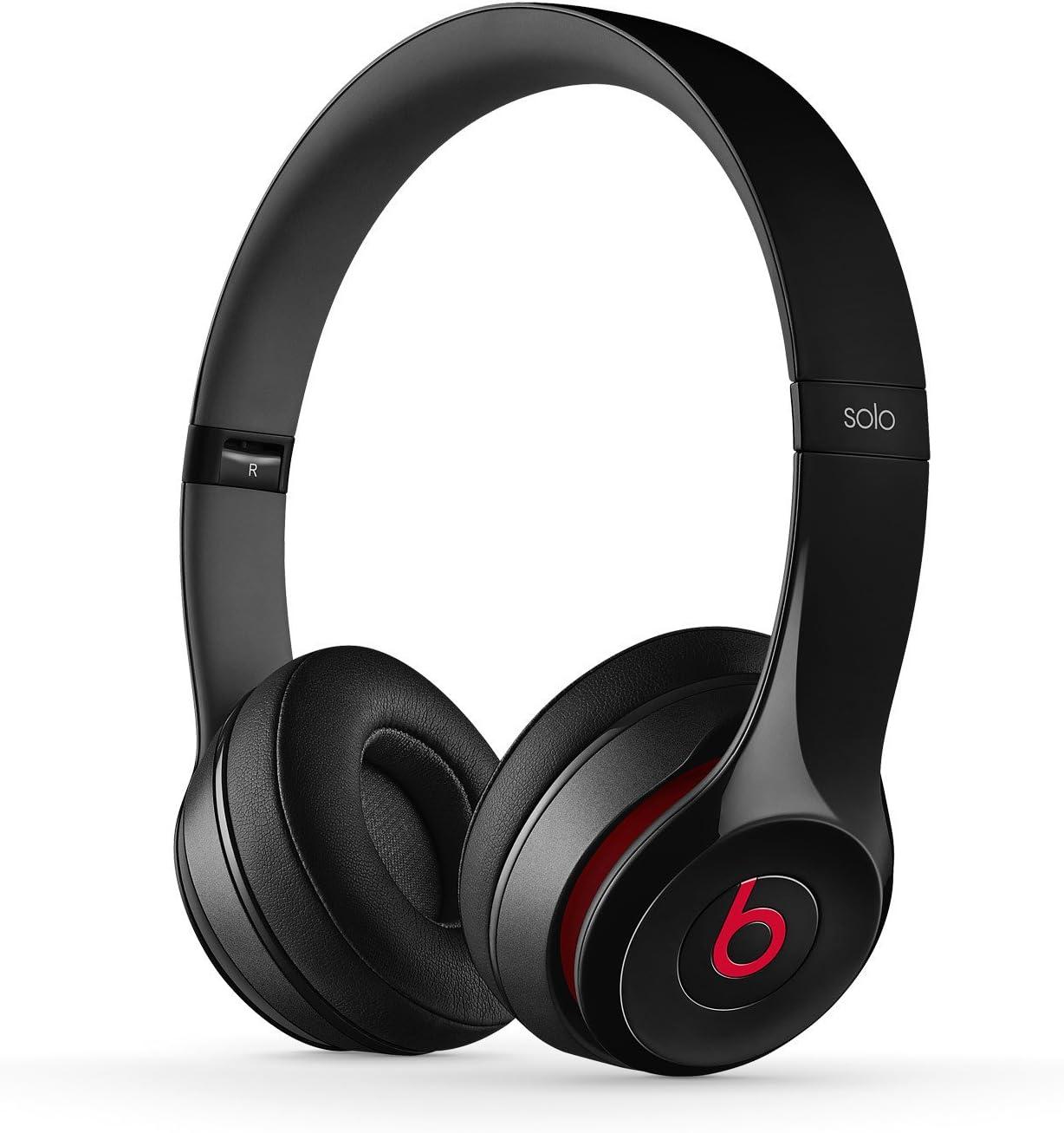 Beats by Dr. Dre Solo2 - Auriculares con diadema, 3.5 mm, alámbrico, color negro: Amazon.es: Electrónica
