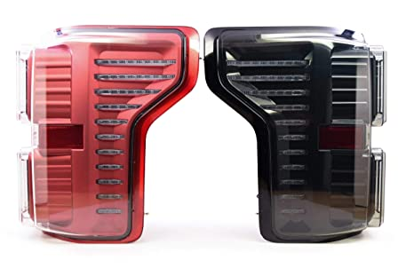 Morimoto Xb Led Plug Play Tail Light Assemblies Compatible With 2015 2018 Ford F 150 Red W 2018 Harness