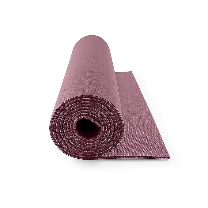 Lotuscrafts Rubber Yoga Mat Oeko - 100% Natural and Ecological - Eco Friendly Yoga Mat Non Slip - Non Toxic Yoga Mat Rubber - Yoga Mat for Home and ...