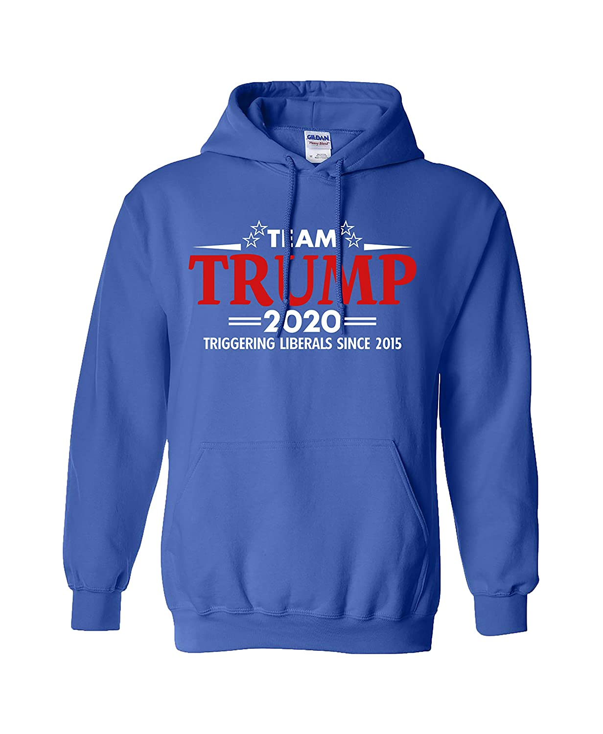 Trenz Shirt Company Political Team Trump Adult Hooded Pullover