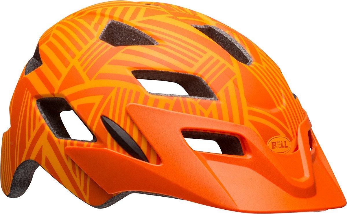 Bell Sidetrack Helmet - Kids' Matte Tang/Orange Seeker, One Size