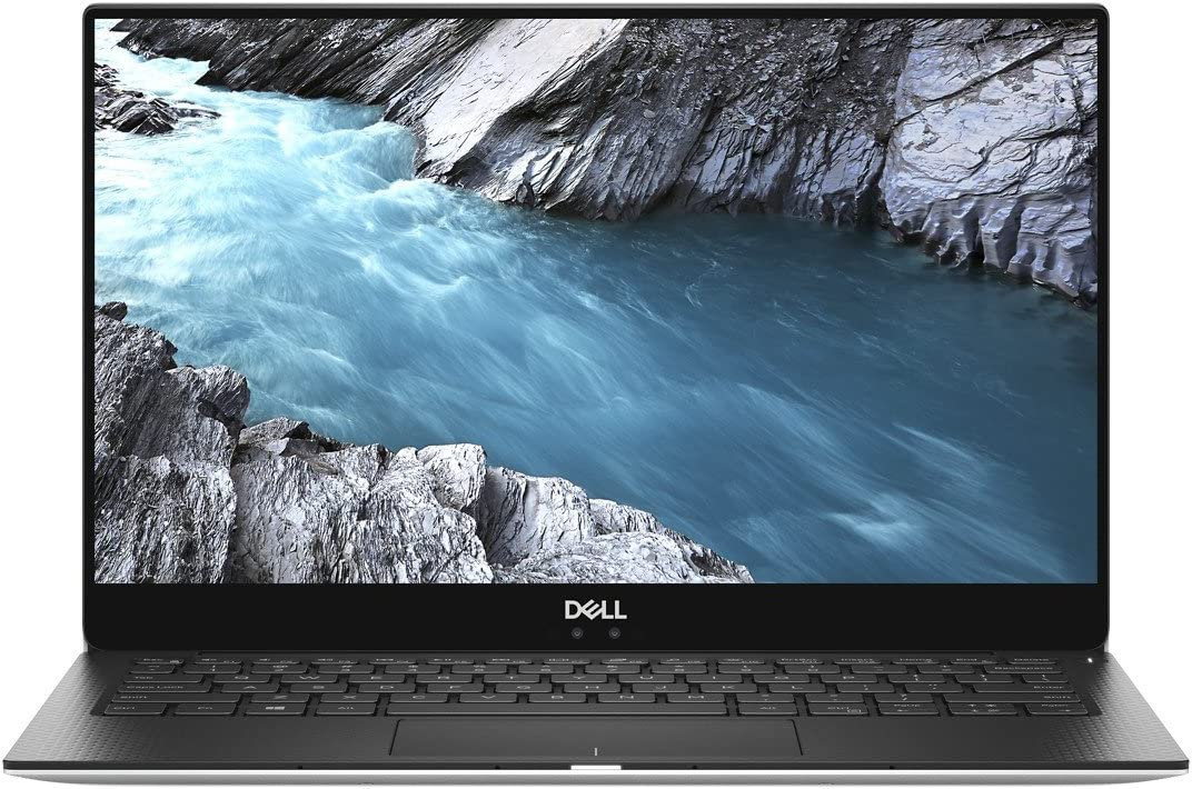 "2019 Dell XPS 9370 13.3"" 4K UHD Multitouch Premium Thin & Light Laptop, Intel Quad Core i7-8550U Upto 4.0GHz, 8GB RAM, 1TB SSD, Backlit Keyboard, Thunderbolt3, Windows 10, Silver with Black Palmrest"