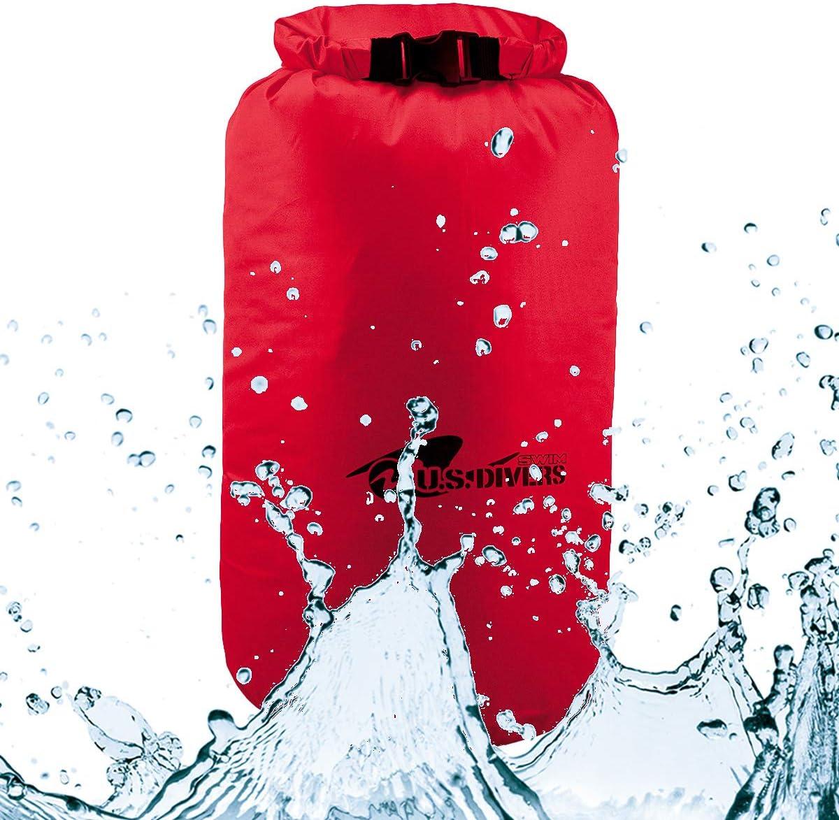 U.S. Divers Dry Bag Water-Resistant Protective Storage Boating Kayaking Floating Beach Pool Bag