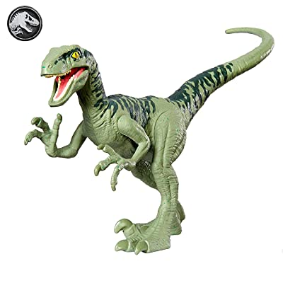 Jurassic World Attack Pack Velociraptor Charlie: Toys & Games