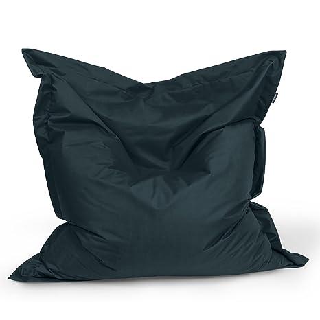 BuBiBag Puf Asiento Cojín Bean Bag rectángulo tamaño 160 x ...