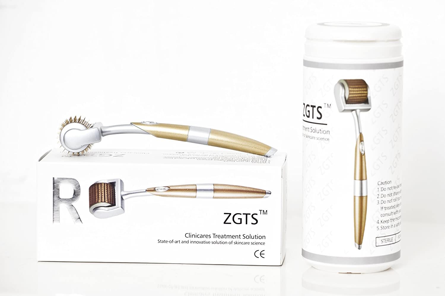 zgts lux derma roller gold