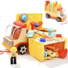 TOP BRIGHT Toddler Tools Set Toys for 2 Year Old Boy Gifts Kids Toy Truck
