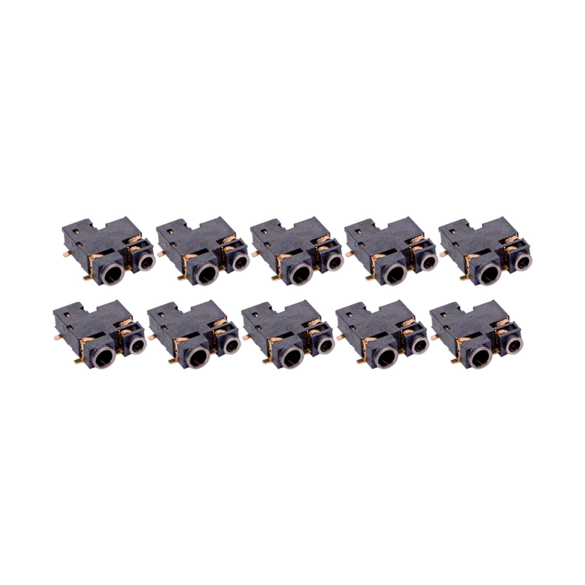 10 Pack Maxtop ACC-AKCP200 Replacement Audio Jack for Motorola CP200