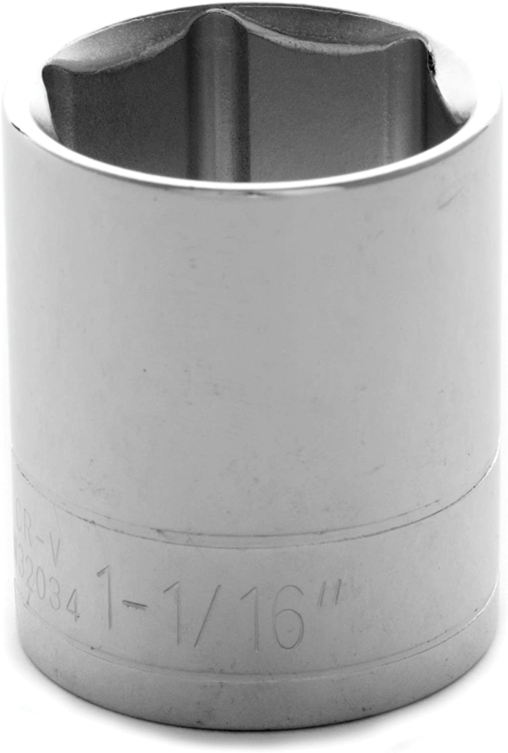 Performance Tool W32036 1//2-Inch Drive 6-Point Socket 1-1//8-Inch