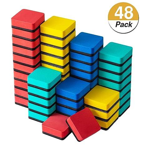 Amazon.com: Favourde - Paquete de 48 borradores magnéticos ...