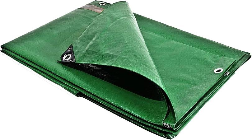 Lona de protección 4 x 5 m. 250 g/m² – Plástico – Exterior – Impermeable, de techado, para obras