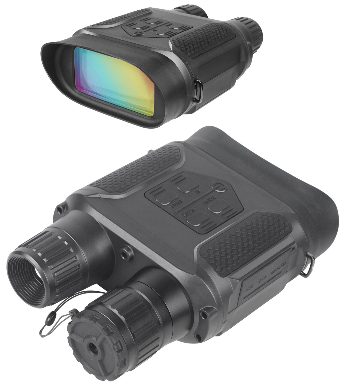 Digital Night Vision Binoculars for Hunting 7x31 with 2 inch TFT LCD HD Infrared IR Camera & Camcorder 1300ft/400M Viewing Range Takes 5mp Photo & 640p Video by Bestguarder