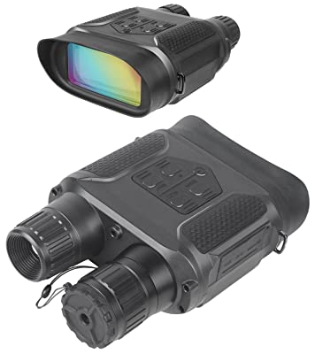 Digital Night Vision Binocular for Hunting 7x31 with 2 inch TFT LCD HD Infrared IR Camera & Camcorder 1300ft/400M Viewing Range Takes 5mp Photo & 640p Video
