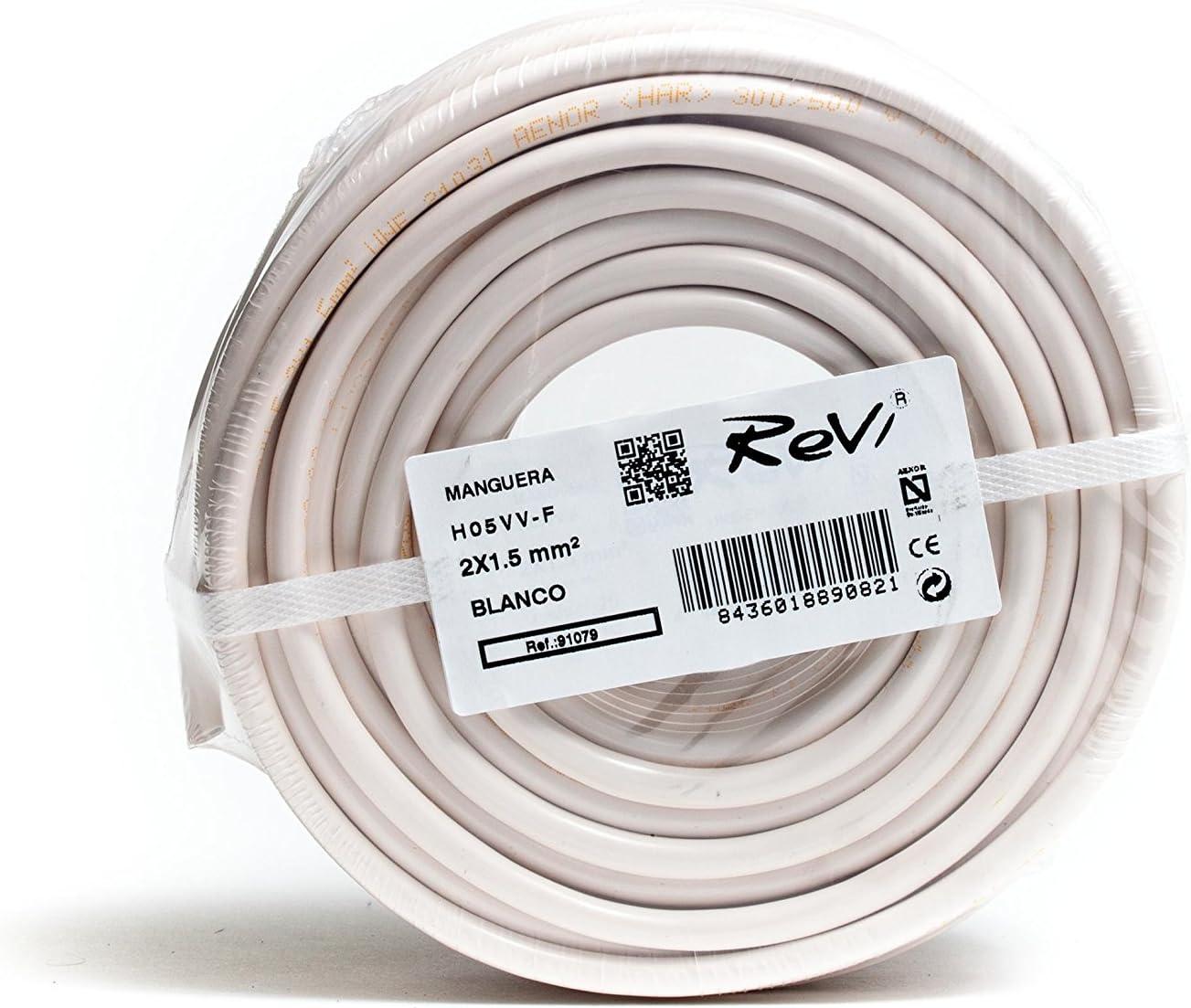 500.00 voltsV C/âble Flexible HO5 VV-F 3 X 2,5 mm 50 M