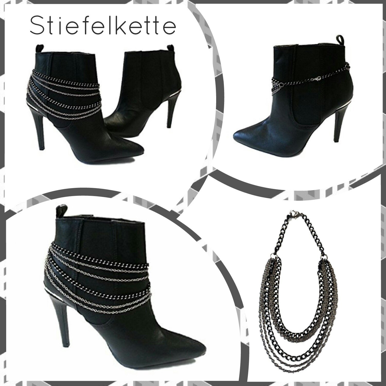La Loria Mujer cadena de botas Metall Amalia Accesorios para decorar el calzado, 1 Par: Amazon.es: Zapatos y complementos