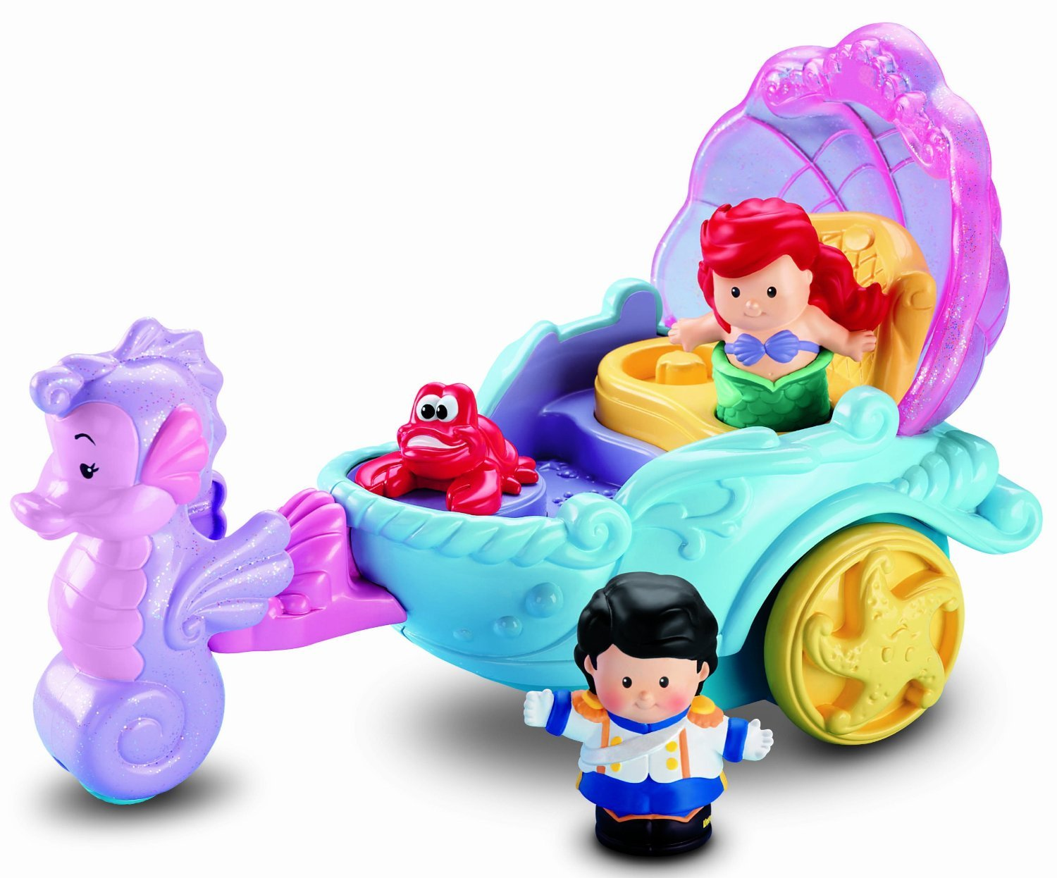 Fisher-Price Little People Disney Princess: Ariels Coach – Top Christmas Toys of 2017