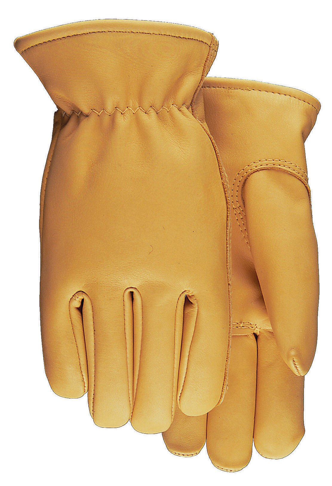 American Made Top Grain Cowhide Leather Work Gloves , 688, Size: Large by Midwest Gloves & Gear