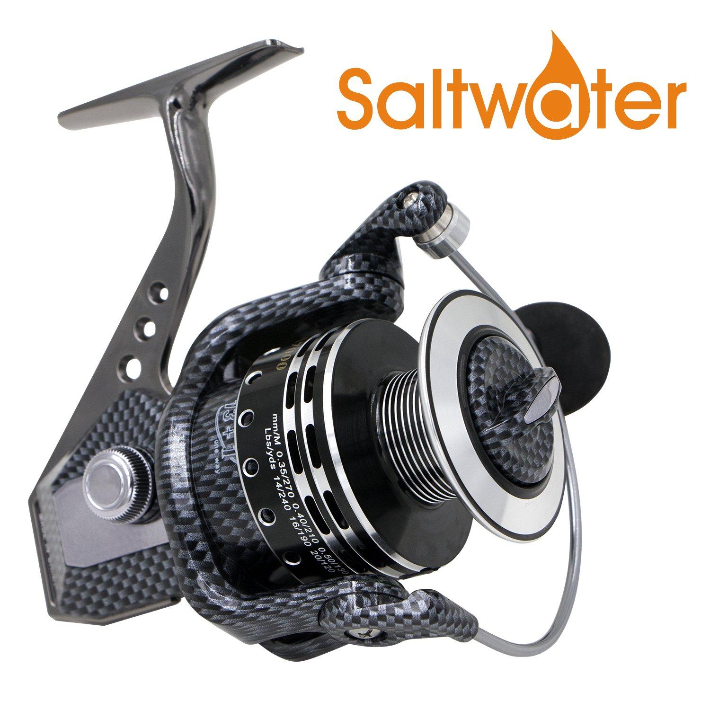 世界有名な Spinning Reel海水釣りリールBattle 1000 II with淡水釣りリール B01G9PUO5A B01G9PUO5A Battle II Metal Metal Series Fishing Reels 1000, スザカシ:7ebaa83f --- credibem.com.br