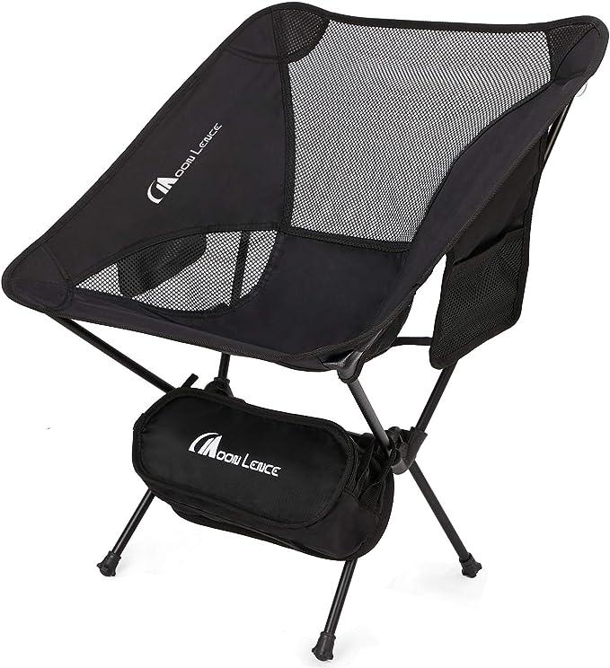 Chair Camping Fishing Hiking Moon Lence Blue