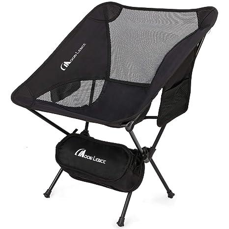 396a9934a9 Amazon.com: MOON LENCE Outdoor Ultralight Portable Folding Chairs ...