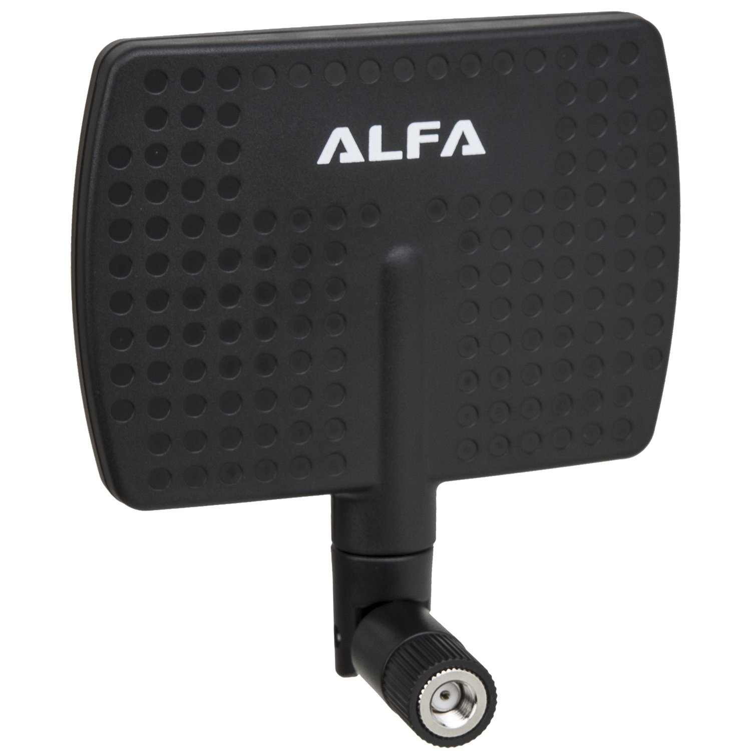 Alfa 2.4HGz 7dBi RP-SMA Panel Screw-On Swivel Antenna for Alfa - WUS036H, WUS036H1W, APA05, WUS036NH, WUS036NEH, WUS048NH, WUS036EW, WUS051NH