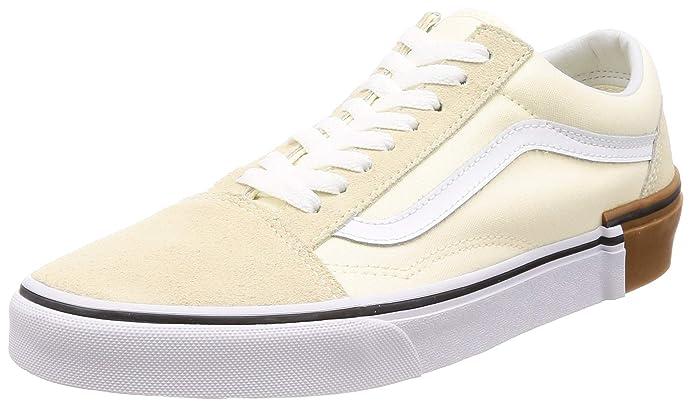 Vans Old Skool Sneaker Damen Herren Kinder Unisex Klassisches Weiß