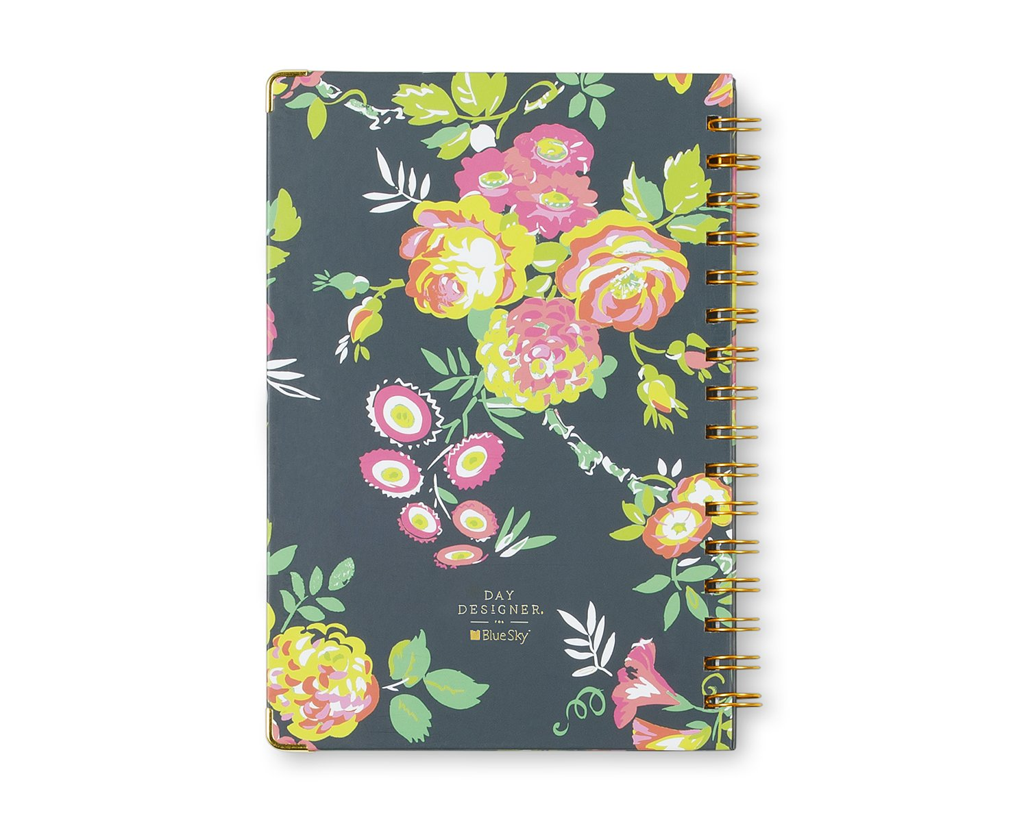 Day Designer for Blue Sky Notebook Journal, 160 Ruled Pages, Hardcover, Twin-Wire Binding, 5.75'' x 8.5'', Peyton Navy by Blue Sky (Image #4)