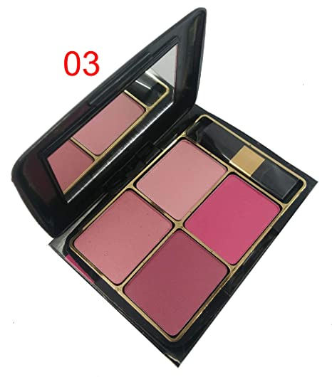 Beauty Blooms BB-The Fashion Factory Blusher Make up Kit (03 Shade) Set of  4 Colours