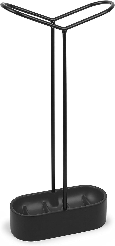 Un Risparmio di Spazio Organizer Irregolare,doro portaombrelli per Corto//Lungo portaombrelli LLDKA Supporto Schermo Metallico Quadrato