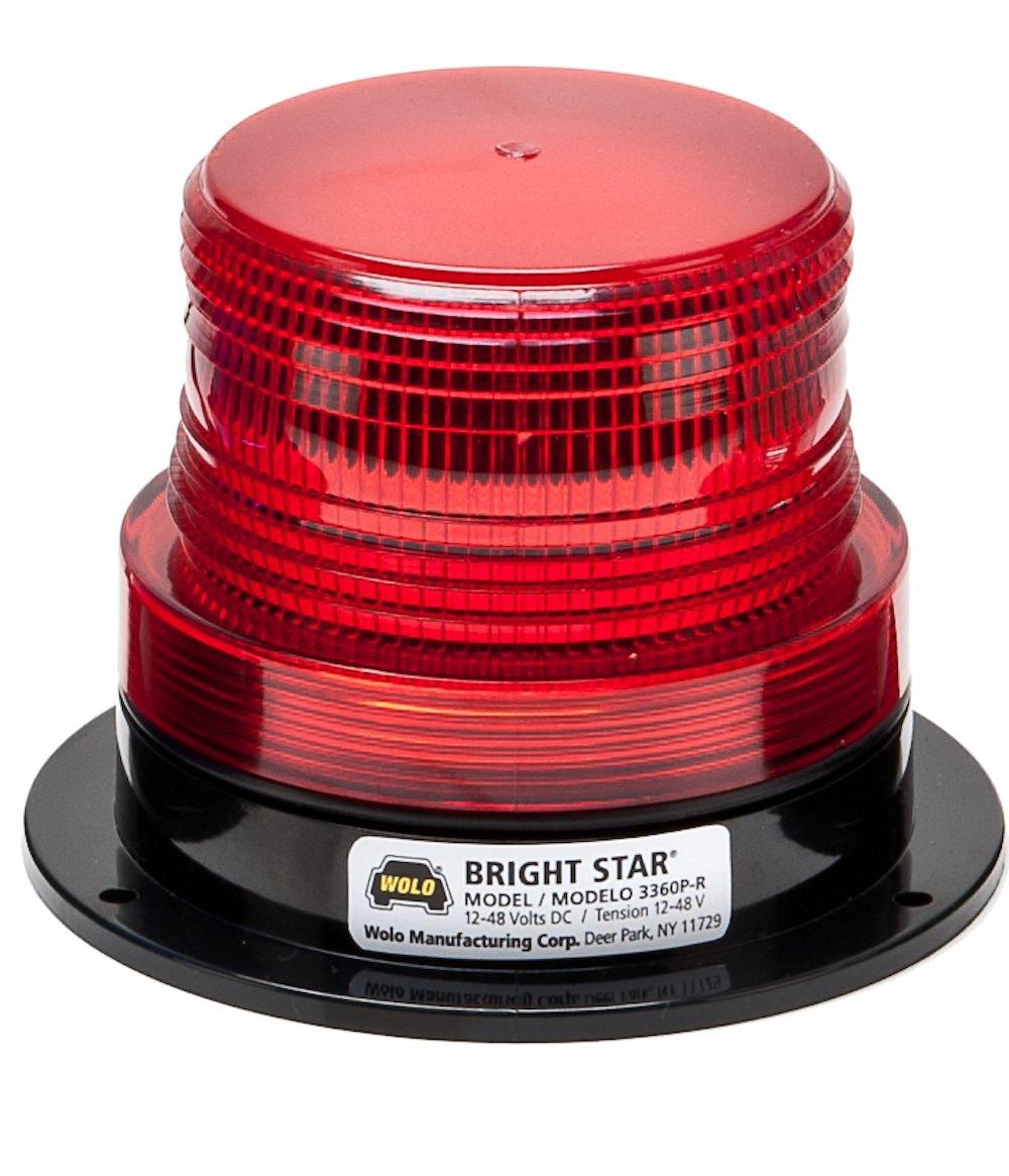 wolo lighting. Amazon.com: Wolo (3367P-G) Bright Star Emergency Warning Strobe Light - Green Lens, Permanent Mount: Automotive Lighting