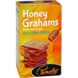 Pamela's Products Gluten Free Graham Crackers, Honey, 7.5 Ounce
