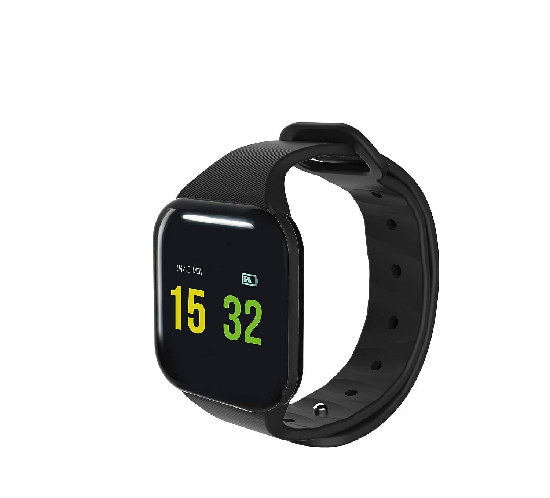 Blaupunkt BLP5010 - Reloj Inteligente Bluetooth Deportivo, Adultos Unisex, Negro, M