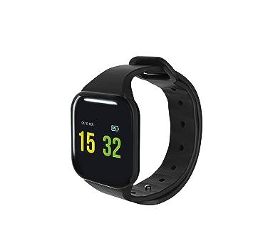 Blaupunkt BLP5010 - Reloj Inteligente Bluetooth Deportivo, Adultos Unisex, Negro, M: Amazon.es: Deportes y aire libre