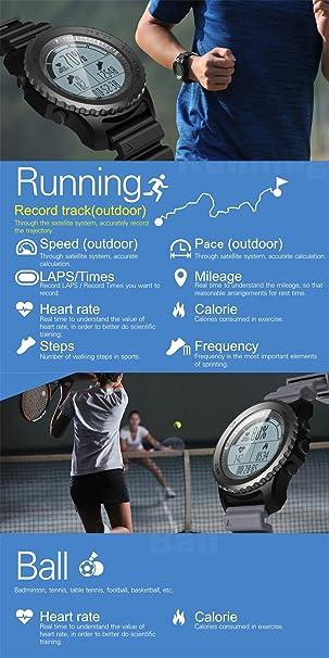 ZHUOTOP Reloj de pulsera deportivo para actividades al aire ...