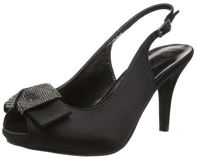 F10254, Womens Heels Sandals Spot On